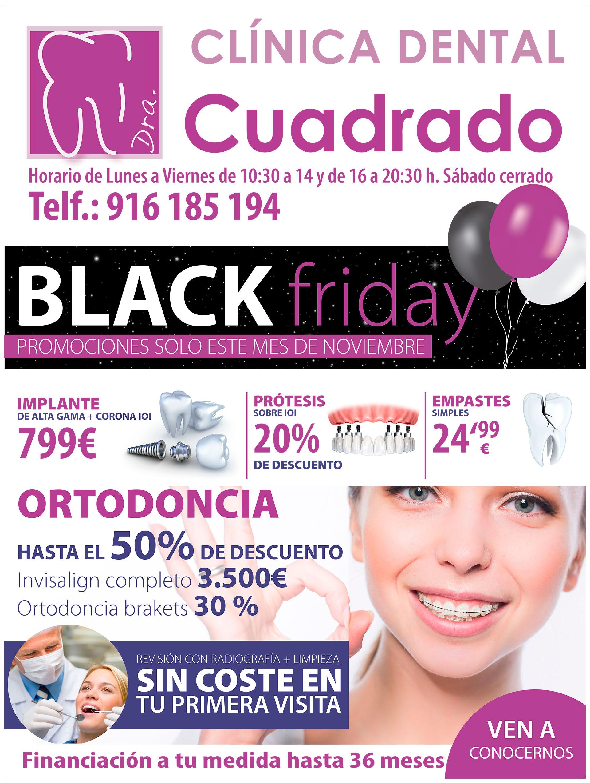 ¡El Black Friday llega a nuestros centros de Móstoles y Getafe!