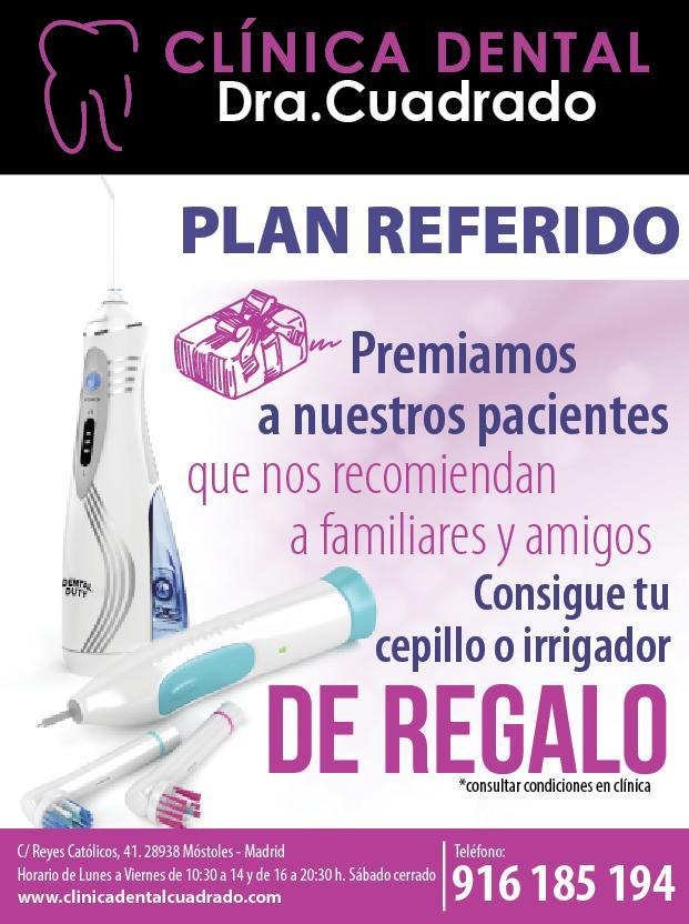 ¡Descubre el Plan Referido de Clínica Dental Cuadrado y gana regalos por recomendarnos!