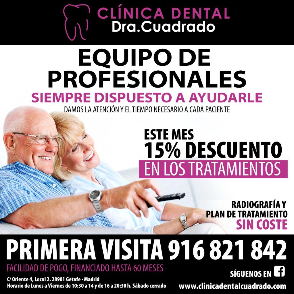 Siguen vigentes las nuevas promociones de Clínica Dental Cuadrado para este mes de Junio