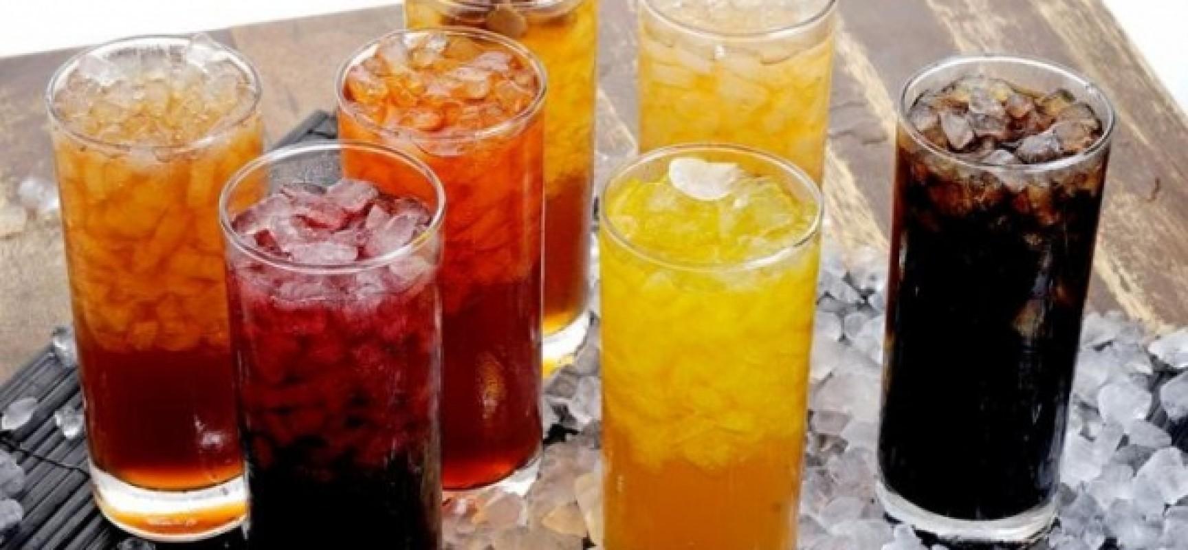El peligro de las bebidas alcohólicas y de las bebidas para deportistas