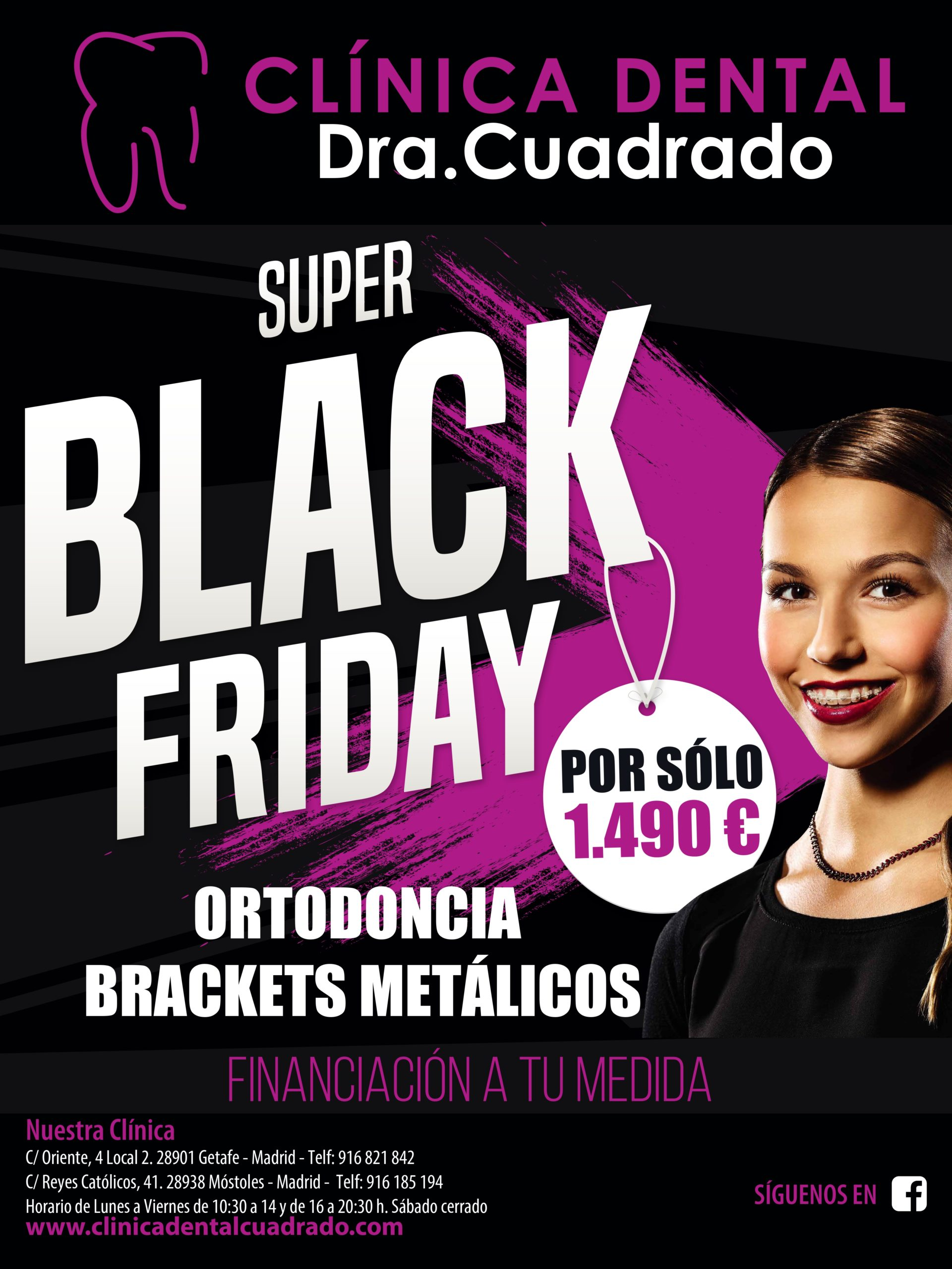 El Super Black Friday llega a la Clínica Dental Doctora Cuadrado