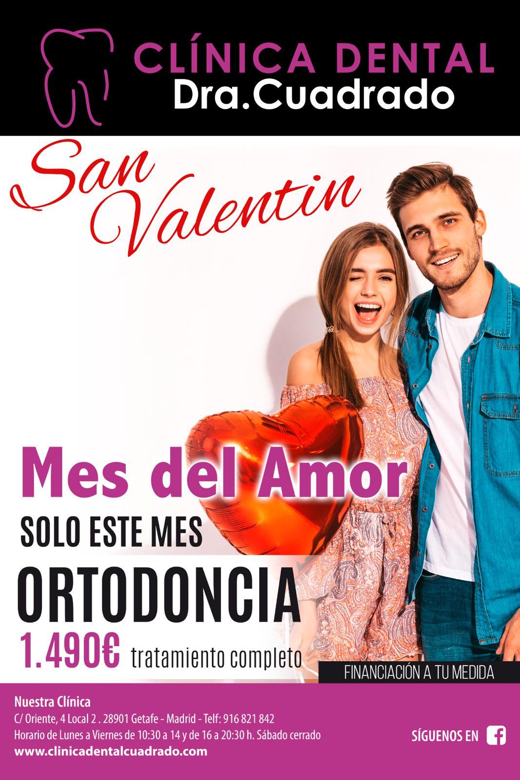 Febrero, el mes del amor y de las nuevas promociones de Clínica Dental Cuadrado